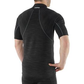 NRS M's HydroSkin 0.5 Short Sleeve Shirt Black